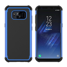 50PCS Romiky Football Armor Case for Samsung Galaxy S8 Plus Hard Tough PC + TPU Cover for Samsung S8 Plus Phone Shell Outdoor