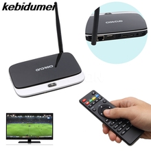 kebidumei CS918 Q7 Android 4.4 Smart TV Box Player 4 Core 2G/16G 1080P HD WiFi Mini PC Fully Loaded EU US UK Plug(China)