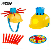 YNYNOO Water Roulette Game Wet Head Challenge Fun Hat Toy Family Party Prank Games Gags Practical Jokes Toys Funny gifts For kid