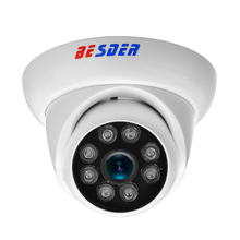 BESDER 48V POE IP Camera 2MP 8pcs Array LEDs 720P/960P/1080P Outdoor Indoor CCTV IP Cam P2P ONVIF PoE Security IP Metal +Plastic(China)
