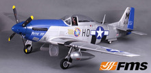 FMS 1400MM / 1.4M Gaint Warbird P51 P-51D Mustang Petie 2nd Newest V8 PNP Big Scale RC Model Plane Aircraft