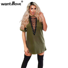 11 colors 2017 summer women t shirt mini tie-up dress black white bodycon sexy club tshirt tops tee plus size vestidos de festa
