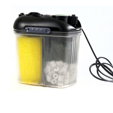 150L/H Mini Super Silent Aquarium Fish Fresh Water Marine Reef Coral Tank Filter Canister(China)