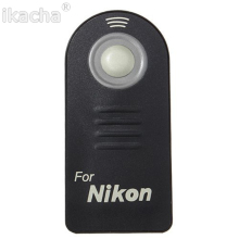 100 Pcs New ML-L3 Camera IR Wireless Remote Control For Nikon D7000 D5100 D5000 D3000 D90 D80 D70S D70 D50 D60 D40X 8400 8800