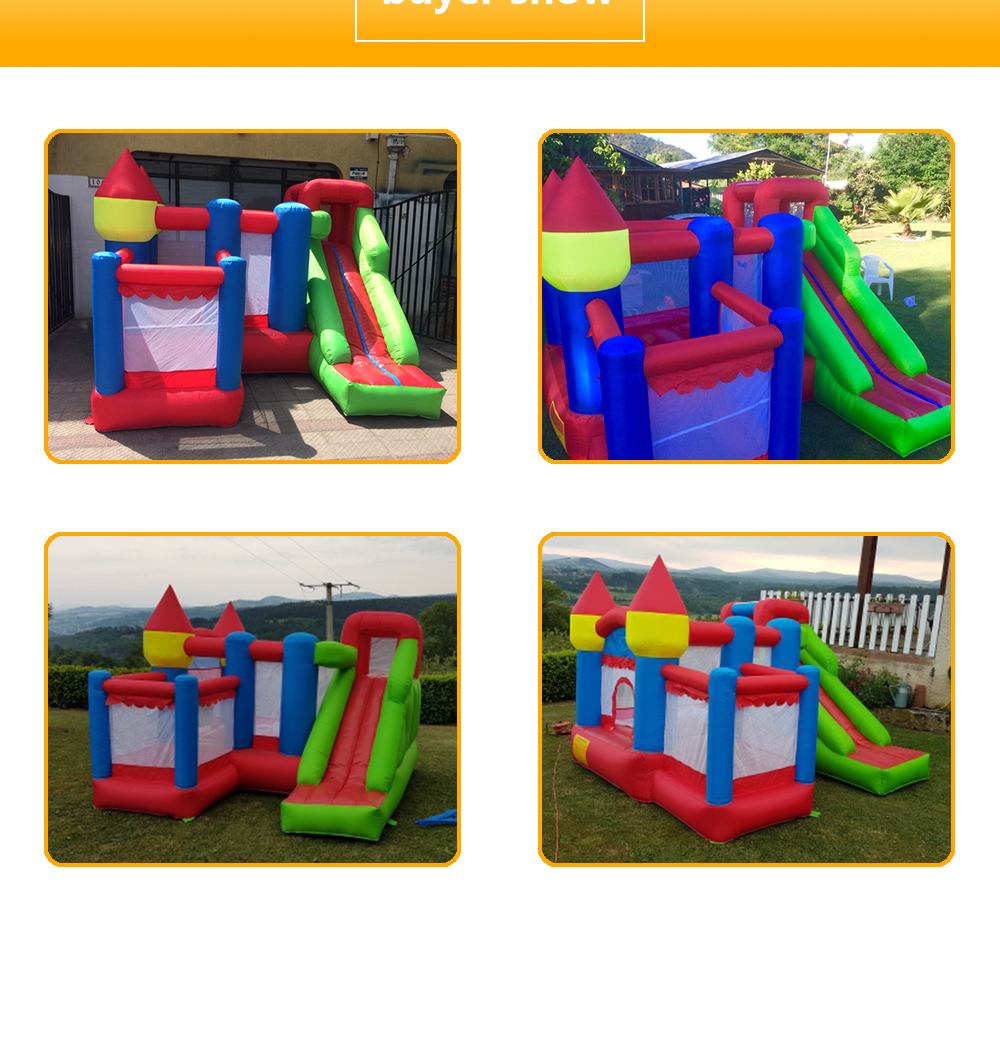 6063 Inflatable bouncy castle bouncer bounce house jumping castle_09