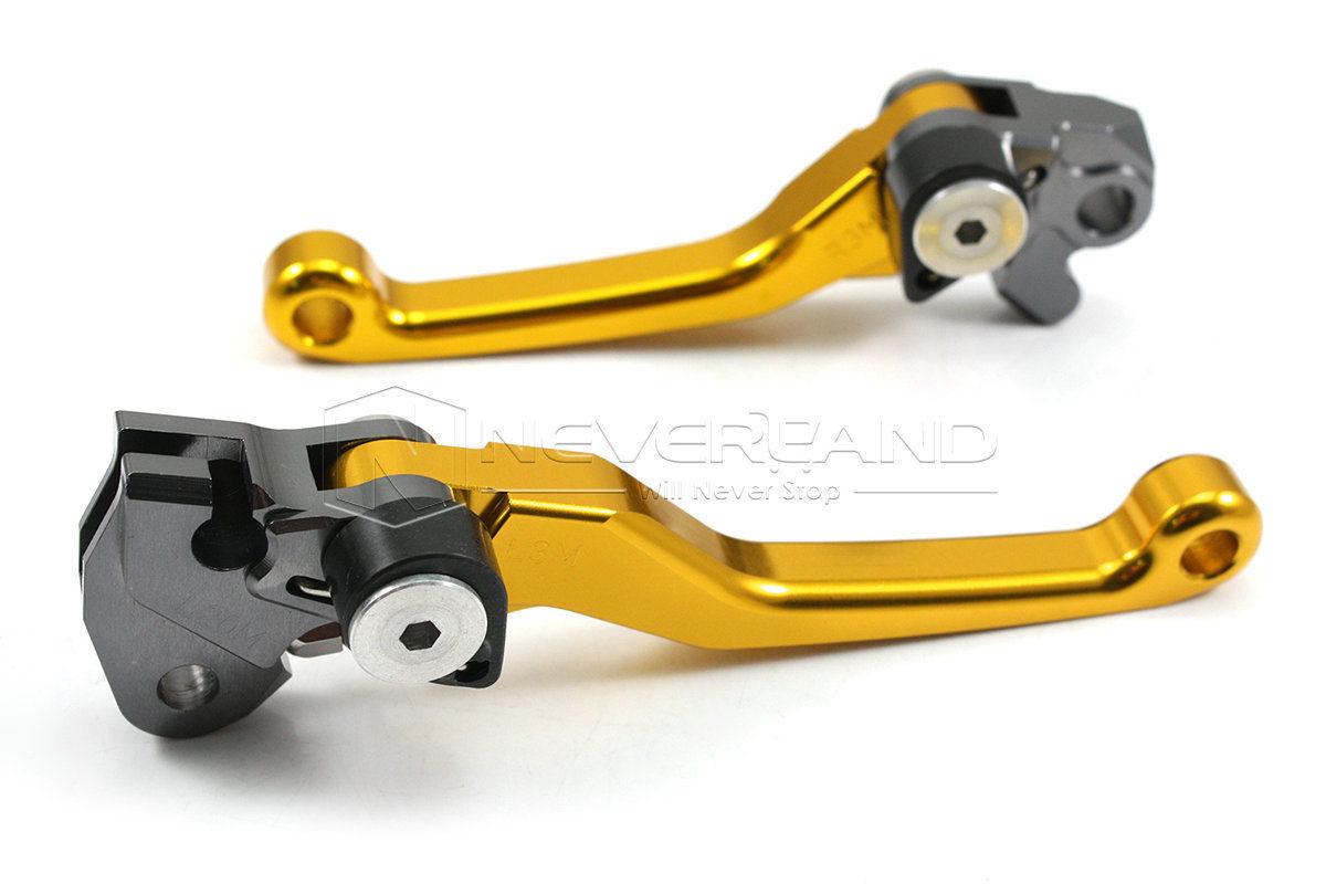 For Suzuki RMX250R/S 1996-1998 DRZ400R 2000-2004 CNC Pivot Dirttbike Brake Clutch Levers Gold Freeshipping D10<br><br>Aliexpress