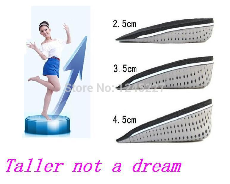 Pu memory foam height increasing taller insoles pad Cushion Insert soles Lift  man and women for shoes feet care soft comfort<br><br>Aliexpress