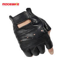 Outdoor sports Motorcycle Gloves Pro biker half finger Racing motocross motorbike gloves for Free size 9-10 cm men women(China)