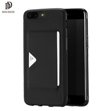 Buy Oneplus 5 Case DUX DUCIS Luxury PU Leather Wallet Card Slot Back Cover Oneplus 5 A5000 One plus 5 Shockproof Phone Case for $6.99 in AliExpress store