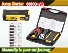 Car Battery Jump Starter 12v Car Jump Starter 4usb port Power bank multi function starter battery