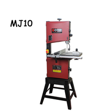 Woodworking band saw household mini band saw solid wood flooring installation work table saws MJ10