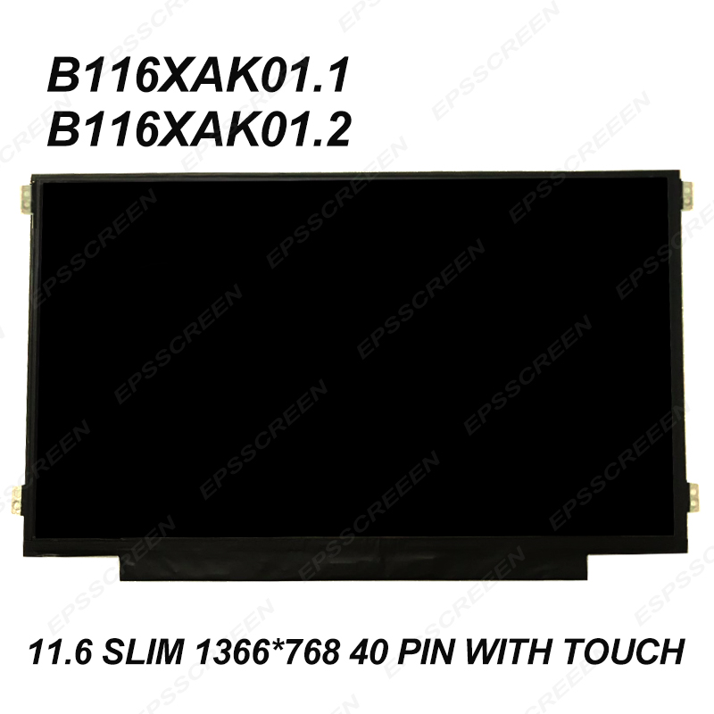 "HP Envy M6-K010DX Sleekbook 15.6/"" WXGA Glossy Slim LED LCD Screen"