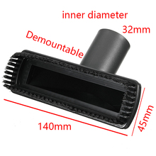32mm PP Plastic Black Hoover Vacuum Cleaner Brush Head Floor Hair Dusting Carpet Cleaner Tool Vacuum Cleaner Parts(China)