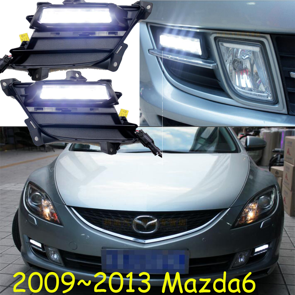 2009~2016 mazd 6 daytime light,atenza daytime light,Free ship!LED,MAZD6 fog light,mada,2ps/set;atenza fog light<br>