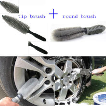 Portable Multifunction Car Wheel Tire Rim Hub  Brush Wash Cleaning Tool Kit Fit For Auto Car Motorcycle Universal Car accessary