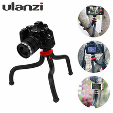 Ulanzi UFO Flexible Tripod with Ballhead Bundle for DSLR and Mirrorless Camera vlogging gear,for iPhone Smartphone Phonegraphy