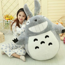 120cm Totoro Plush Toys Huge Size Cute Cartoon Totoro Doll Plush Toy Doll Creative Nap Sleeping Big Pillow Lover Gift