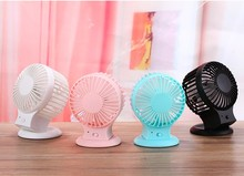 4inch Rechargeable Mini Futaba fan USB2.0/3.0 DC 5V ABS/PP Resin Second Gear 10x7x13cm 800mAH(China)