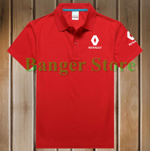 4 COLOURS Size S - 3XL women and mens' Renault logo Polo Shirt Cotton Anti-pilling polo shirt