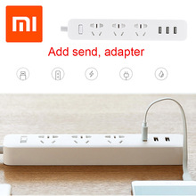 Original for Xiaomi Smart Power Socket Adapte 3 USB Extension Socketr Charger Plug for Smart Home Electronics(China)