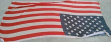 Hot Sale US Flag Scarf The American Flag Long Scarf Star Print Cotton Shawl Wrap Free Shipping