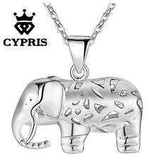 11.11 DEAL Hot Promotion silver Fashion animal style Pendant Necklace 18inch big stone crystal Wholesale Price  jewelry