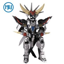 2017 MU 3D Metal Puzzle Light Emperor Knights Armor Assemble Model Kit YM-N011 DIY 3D Laser Cut Jigsaw Toys(China)