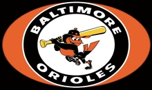 Baltimore Orioles flag 3ftx5ft Banner 100D Polyester Flag White Sleeve with 2 Metal Grommets Banners(China)