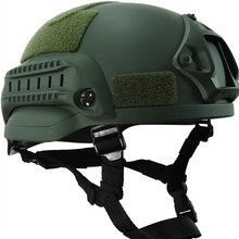 Army Military Tactical Helmet Cover Mich2002 Casco Airsoft Accessories Paintball Hunting Cs Fast Jumping Protective Face Mask(China)