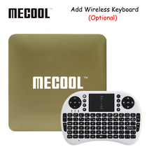 MECOOL HM8 Android TV Box Amlogic S905X Quad Core 64 Bit Android 6.0 Smart Top Box Mini PC 1GB+8GB 4K TV WiFi Media Player