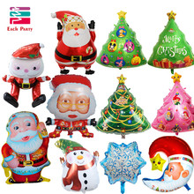 Christmas foil balloons merry Christmas balloons helium balloon inflatable Christmas decoration classic toys Christmas gifts