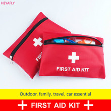 Waterproof kit household car outside the household portable medical emergency Pack Kit First aid kit first-aid packet(China)