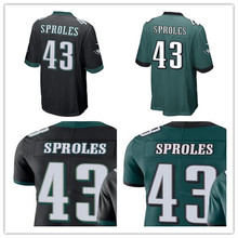 Men's Darren Sproles Philadelphia Game Vapor Untouchable Color Rush Custom Eagles Jersey