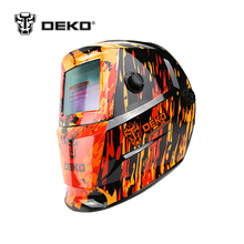 DEKO Black Solar Auto Darkening Electric Welding Mask/helmet/welding Lens for Welding Machine OR Plasma Cutter