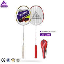 Lenwave brand Top One selling hot badminton racket and star sports products badminton racket made of two kinds of materials(China)