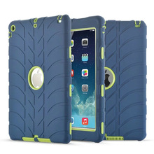 For iPad Air 1 Case Kids Safe Armor Shockproof Heavy Duty 3in1 Rugged Silicone Hard Cover For Apple iPad 5 Table Protective Cove