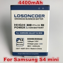 LOSONCOER 3.8V 4400mAh B500BE / B500AE For Samsung galaxy mini s4 i9190 I9198 I9192 i9195 s4mini / For Samsung S4 Mini battery