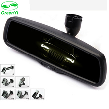 GreenYi Safer Driving Auto Dimming Rear View Interior Mirror Monitor with Original Special Bracket for Any Cars(China)