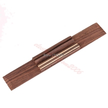 Free Shipping New Replacement Parts Rosewood Wood Classical Guitar Bridge(China)