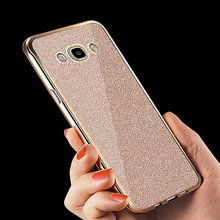 Soft Case Samsung Galaxy J5 2016 Cases J510 5.2 inch Bling Flash Glitter TPU Silicone Cover case - DAGUDON Designer Store store