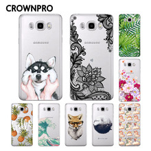 Buy CROWNPRO FOR Coque Samsung Galaxy J7 2016 Case J710 J710F J710H Painted Soft Silicone Protective FOR Funda Samsung J7 2016 Case for $1.08 in AliExpress store