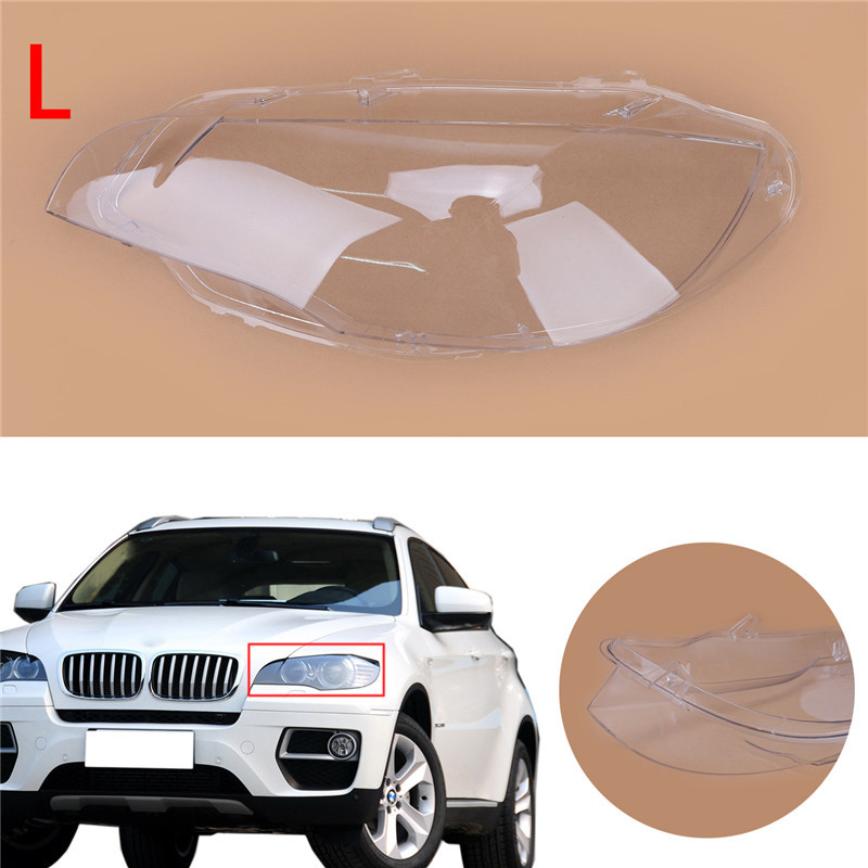 Car Styling Left Clear Housing Headlight Lens Shell Cover Lamp Assembly 2 (6)