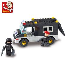 S Model Compatible with Lego B1600 127pcs Explosion-Proof Car Models Building Kits Blocks Toys Hobby Hobbies For Boys Girls(China)