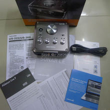 TASCAM US-366 US366 professional USB audio interface recording sound card with microphone amp(China)