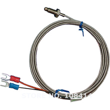 Wholesale M6 Screw Probe K type Thermocouple Temperature Sensor with 2M Wire Cable for Industrial Temperature Controller