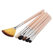 Low Price 6 Pcs beauty make up blush set Professional makeup brushes(China)