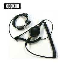 Hot Covert Earpiece Grade Tactical Throat Mic Armpit PTT Headset with Finger PTT for KENWOOD Radio baofeng BF UV-5R