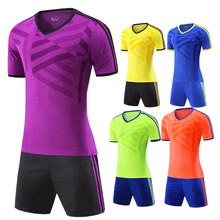 NEW Men Women Kids Survetement Football Jersey kit Youth Sports Soccer Jersey set Uniforms shirt shorts Maillot de foot Printing(China)