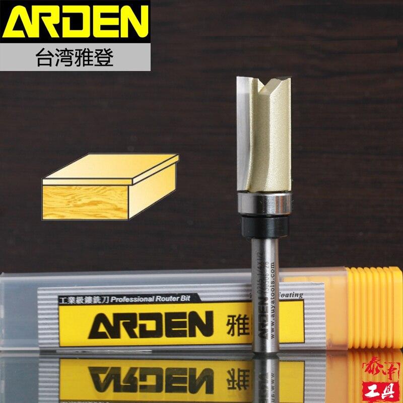 10Pcs Flush Trim Pattern 1/2 W x 1 H Arden Router Bit Shank Bearing -1/4 Shank - Arden<br><br>Aliexpress