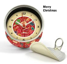 [In Stock] Merry Christmas New Year Magnetic Cheap Wall Clocks,Cheap Desk Clocks,Cheap Table Function Clocks